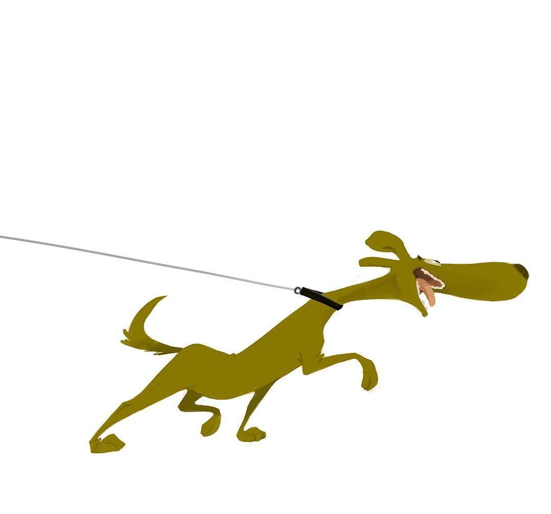 Characterdesign Art Animation Mhd Kheirandish Mhd Kheirandish Art Animationdrawing Illustrate Drawing Dog Happy