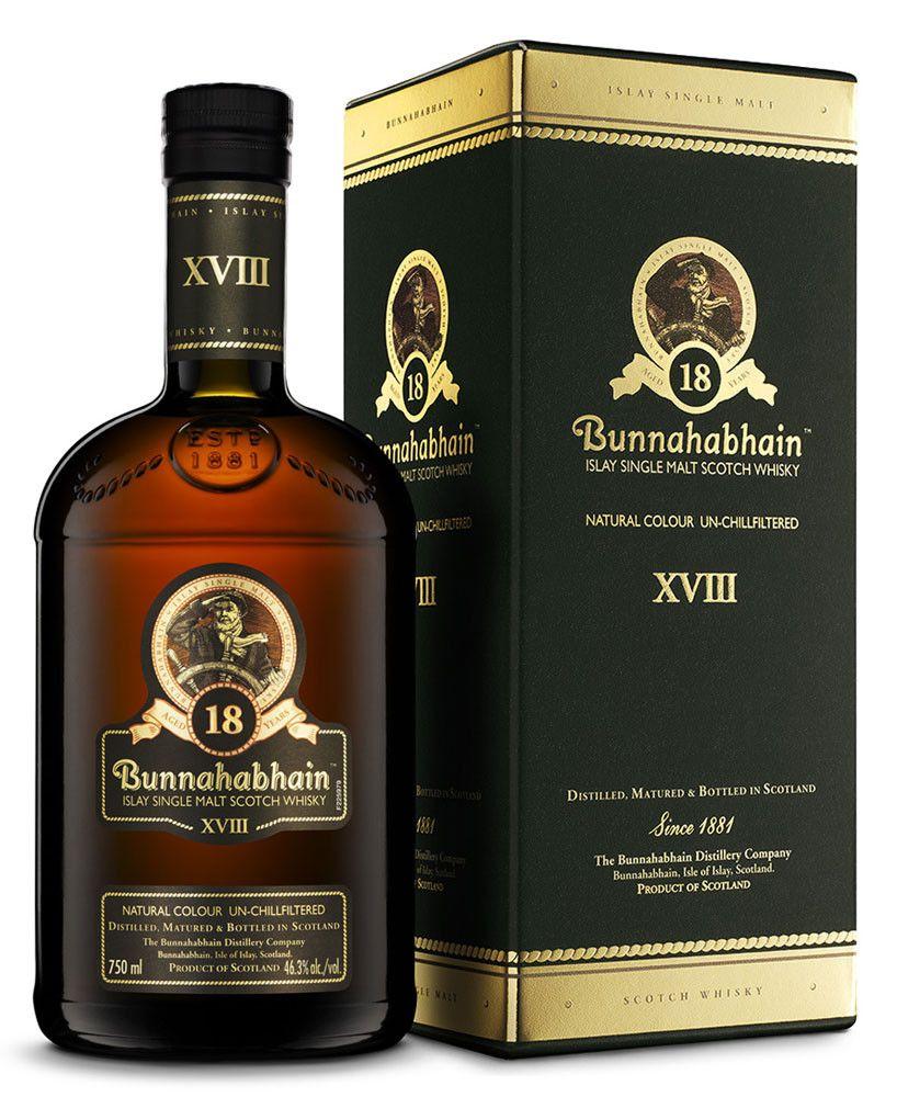 Drinkster - Bunnahabhain 18 Year Old Single Malt Whisky (750ml, 46.3%)