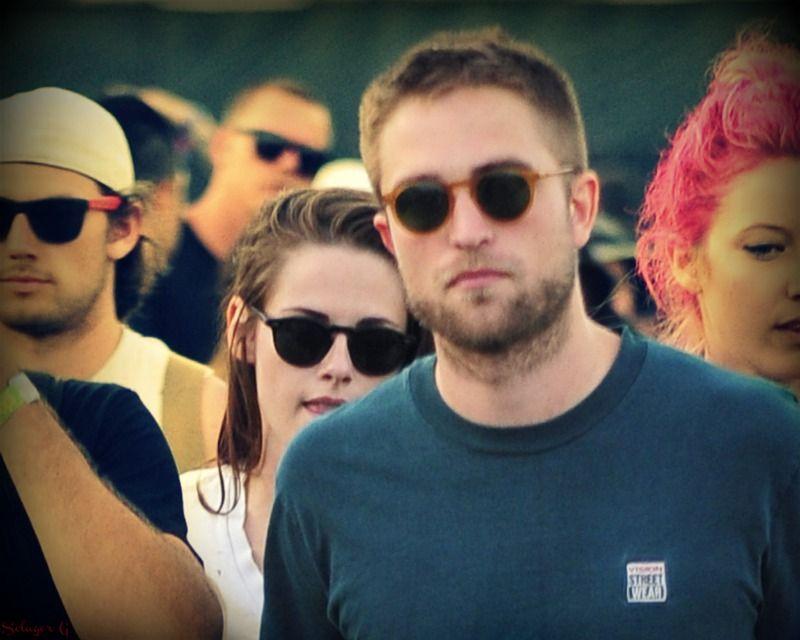 Rob & Kristen at Coachella 2013