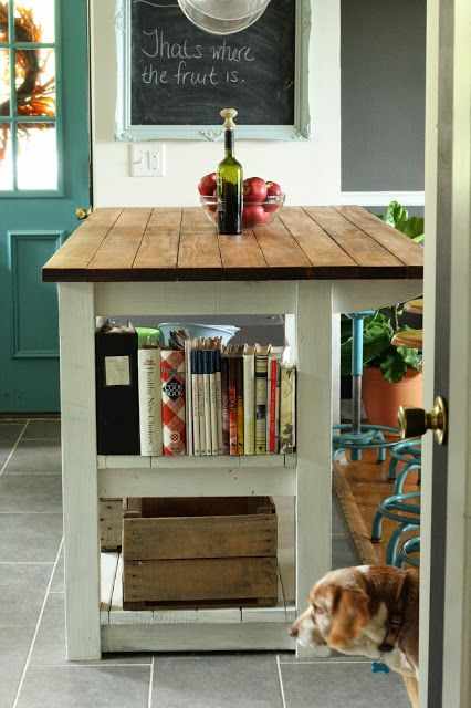 Vintage home decor eclectic house tour house tours for Country kitchen storage ideas