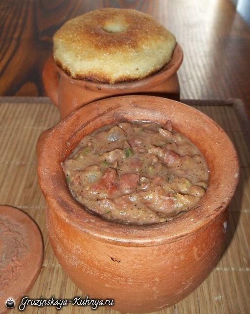 Блюдо из фасоли грузинское