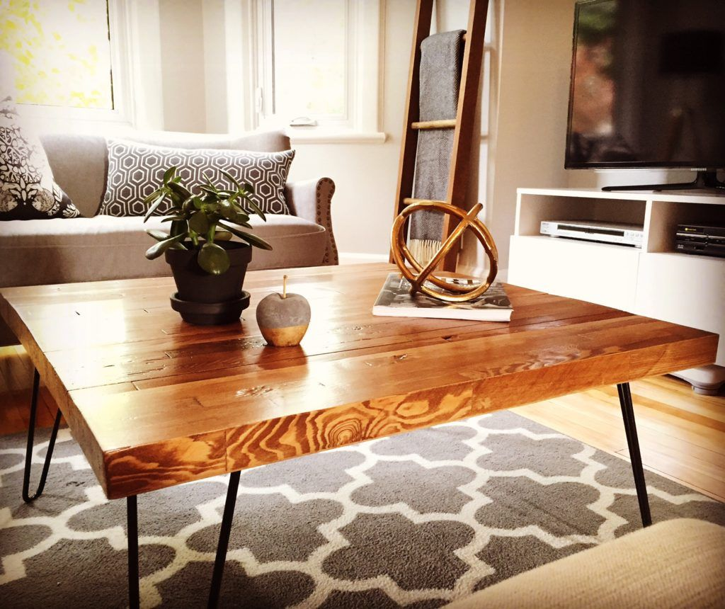 Butcher Block Coffee Table. Ask John, Large Center Instead