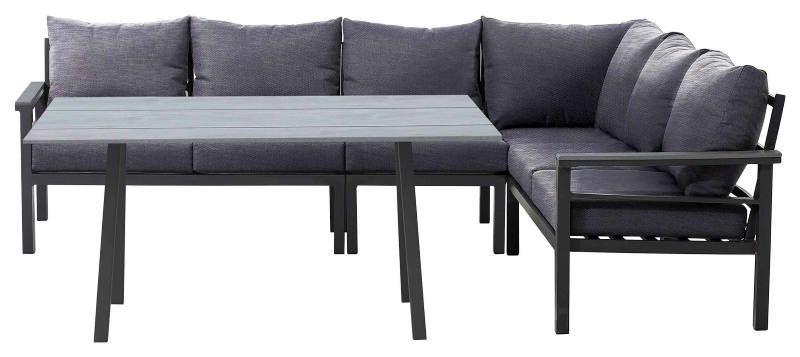 Amatio Lounge Set Olympia Gartenmobel In Grau Lounge Garnitur Lounge Kissen Kaufen