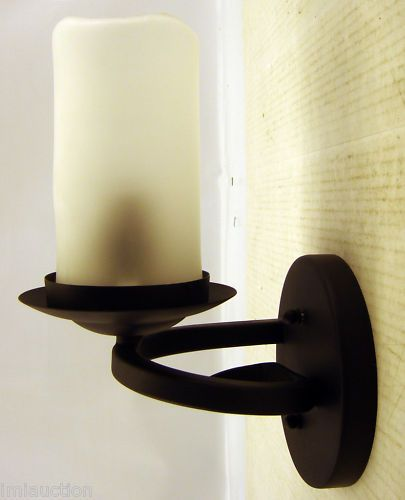 Candle light wall sconce electric oil rubbed bronze oil rubbed candle light wall sconce electric oil rubbed bronze ebay aloadofball Choice Image