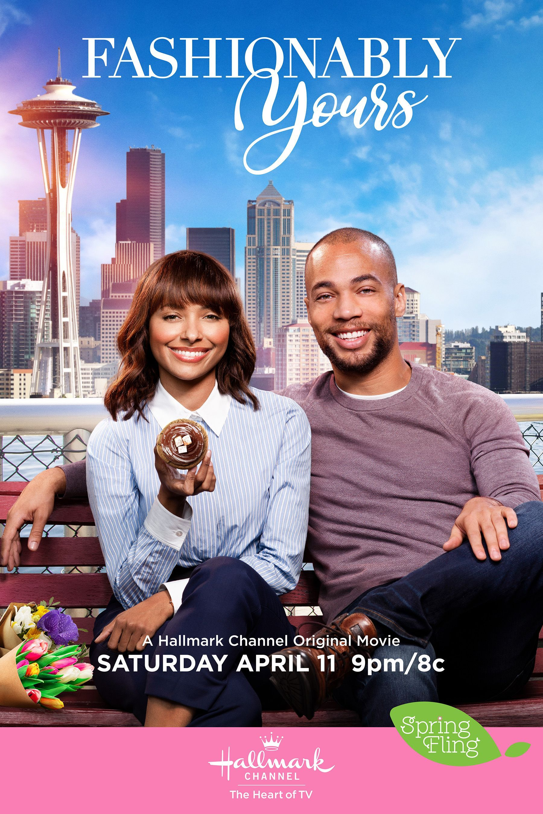 On April 11 Kat Graham And Kendrick Sampson Star In The Stylish Fashionably Yours Part Of Spring Fling On Hallmark Movies Hallmark Channel Christmas Movies