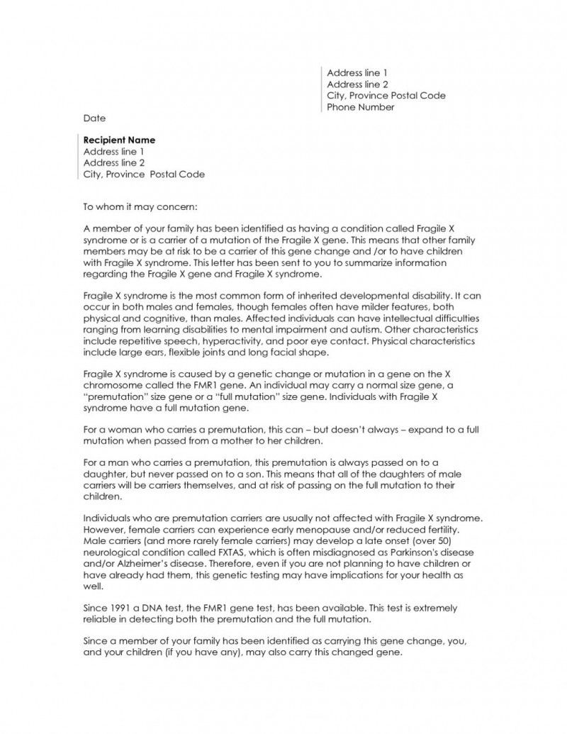 Online Cover Letter To Unknown Recipient Resume Examples