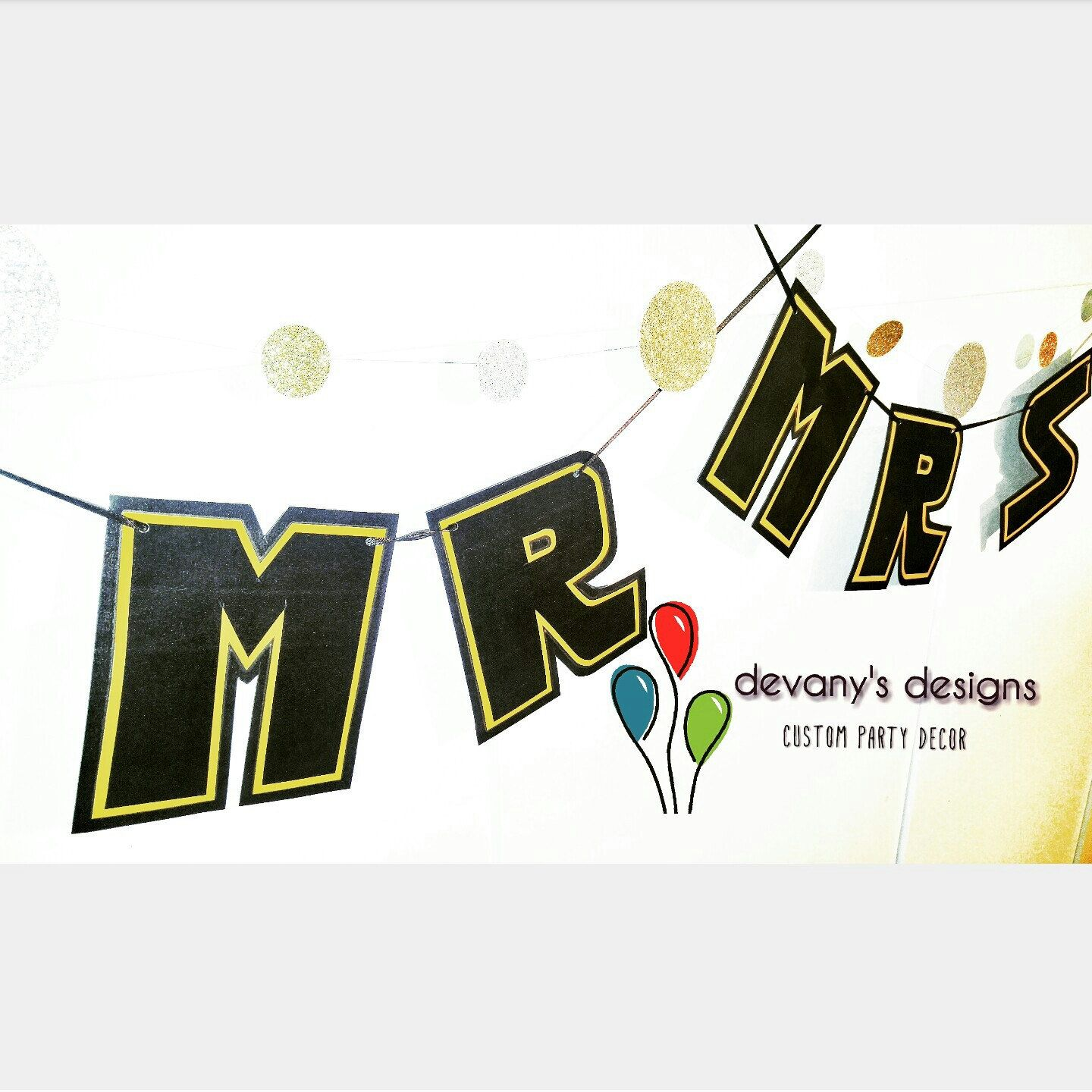 Star Wars Wedding Chair Banners, Star Wars MR and MRS Banners, Mr ...