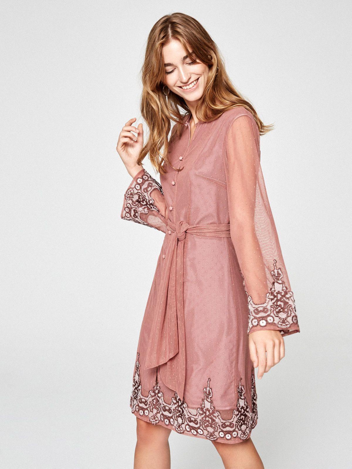MIOH CANCER - Vestido de plumeti bordado en mioh.eu #mioh #vestidos ...