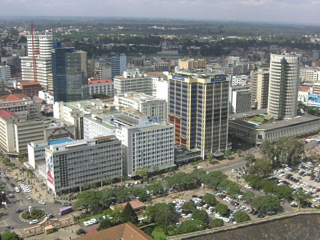 Nairobi street view Kenya, City travel, Nairobi