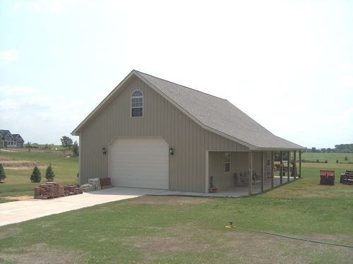 The Pole Barn We Hope To Build Someday With The Lean To On The