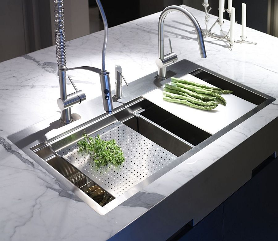 Exquisite Kitchen Faucets Merge Italian Design With Elegant