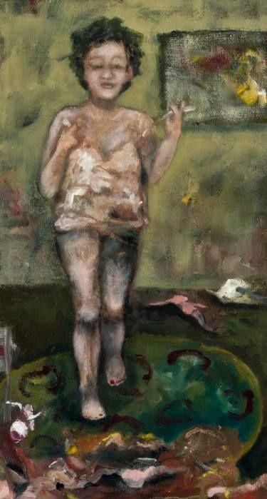 "Saatchi Art Artist Tracy Ostmann; Painting, ""Wardrobe"" #art"