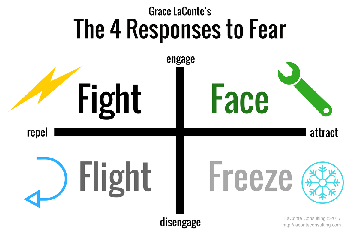 Responses To Fear Fight Or Flight Fight Flight Freeze