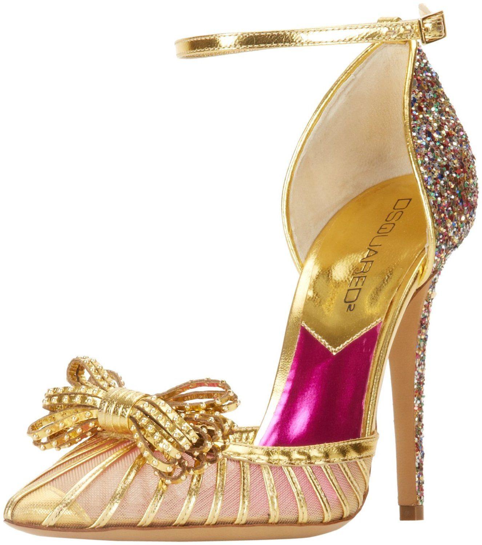 Gold Glitter Wedding Shoes Evening Finditforweddings