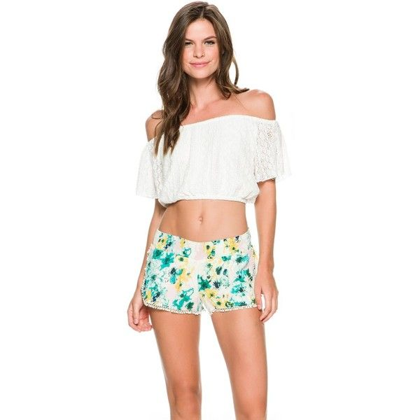 b148bfc4ad L Space Summer Of Love Crop Top ( 99) ❤ liked on Polyvore featuring tops