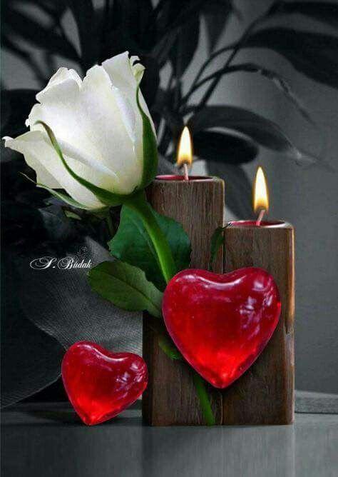 10+ Romantisch herz aus kerzen ideen