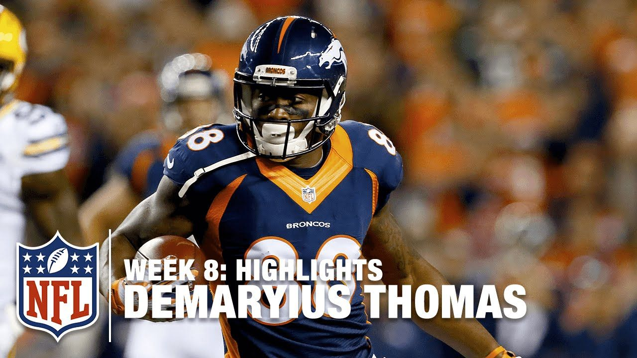 Demaryius Thomas Highlights (Week 8) | Packers vs.  Broncos | NFL