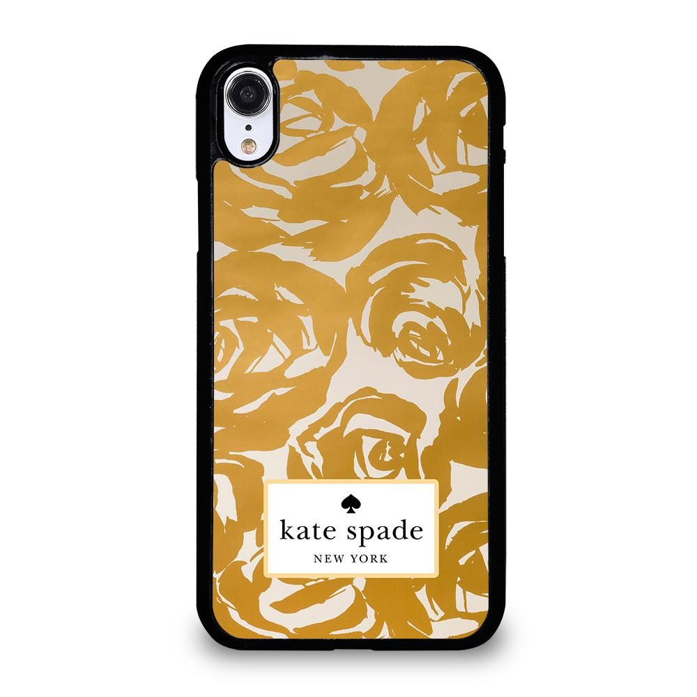 Kate spade rose gold iphone xr case cover gold iphone