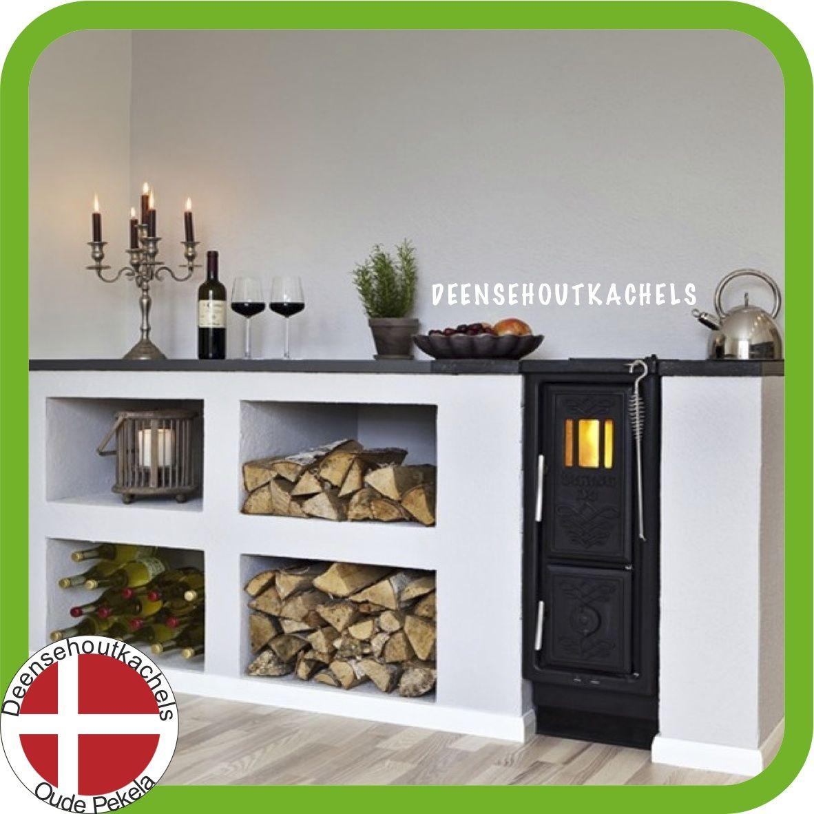 Viva plast wooden colours - Josef Davidssons Viking 30 Kitchen Wood Stove