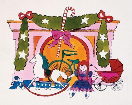ARTE para NAVIDAD: Andy Warhol y sus postales navideñas para Tiffany - RZ100arte #andywarhol