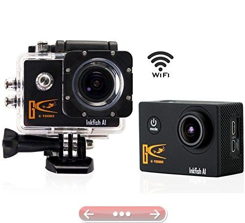 Wifi Full Hd 1080p Sports Camera 12mp 170 Degree Wide Angle 1.5 Screen Car DVR Recorder Digital Waterproof Helmet Action Camera Hdmi Output Camcorder Waterproof 11(A1)