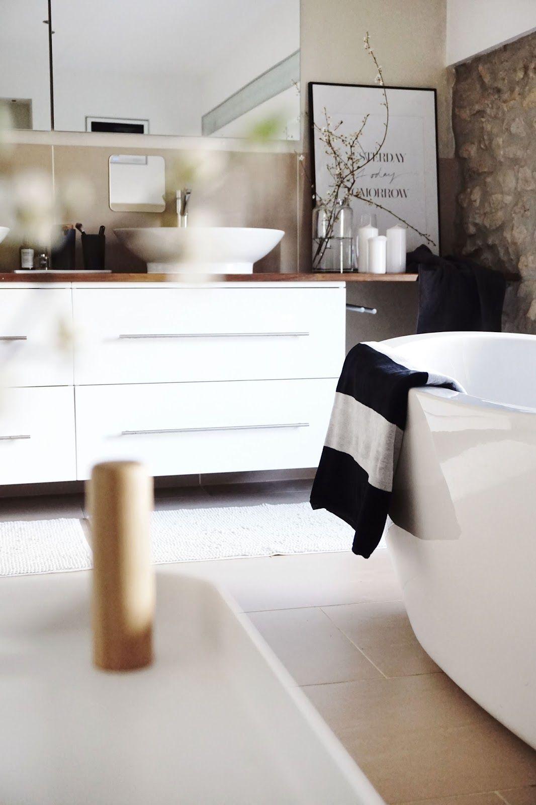 Badezimmer Frühlingsupdate URBANARA IN YOUR HOME Pinterest - Living at home badezimmer