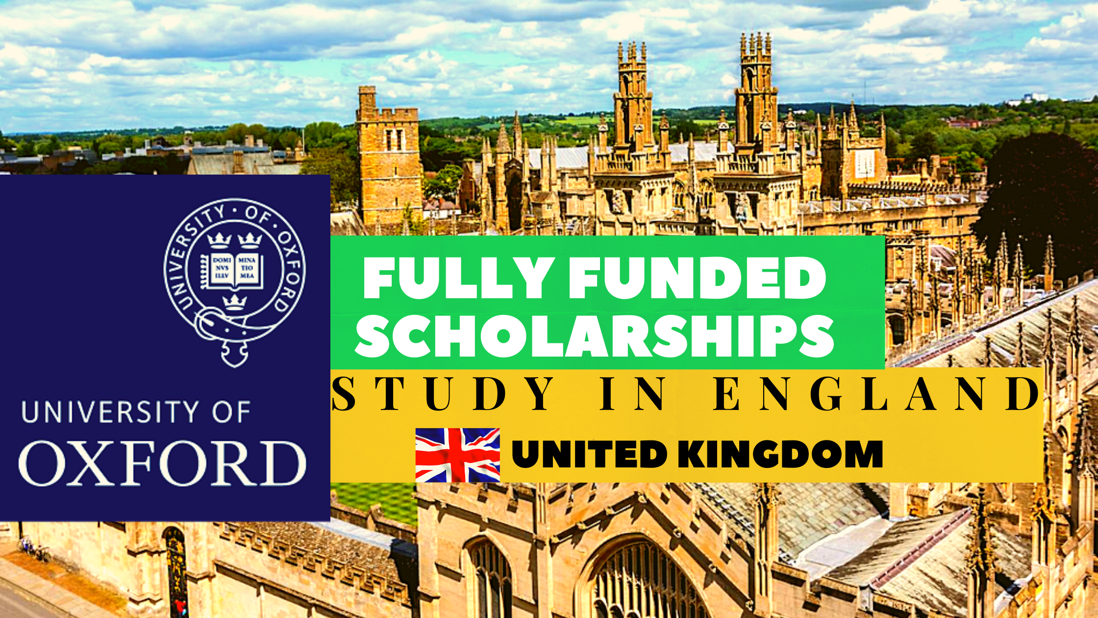 Study In England | Oxford University Scholarships 2021 ...
