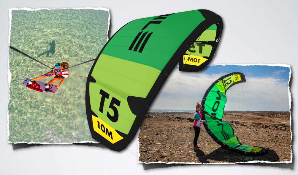 Nobile kiteboarding