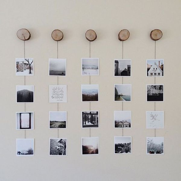 Charming 20 Cool DIY Photo Collage For Dorm Room Ideas Part 5