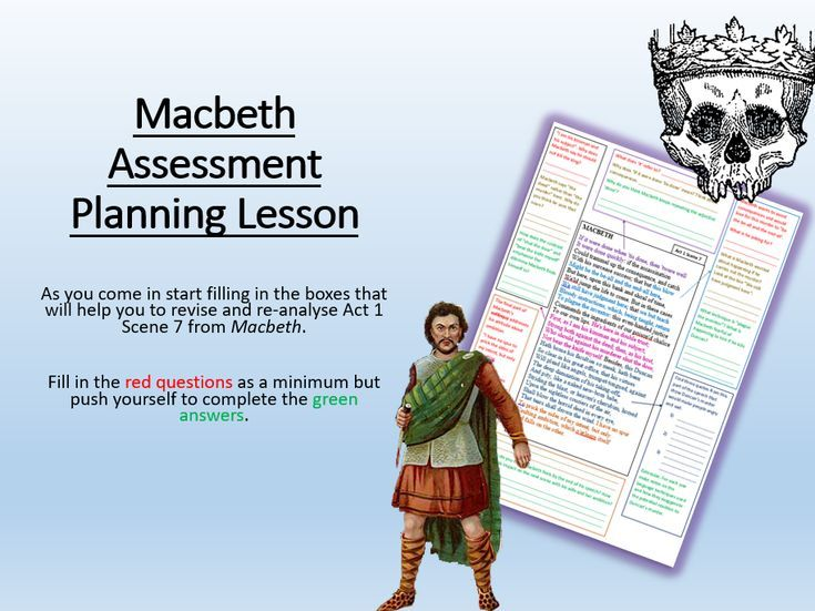 explain the assessment of macbeth and his ambition