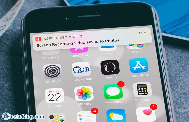 Screen Recording Not Working on iPhone or iPad? Try These