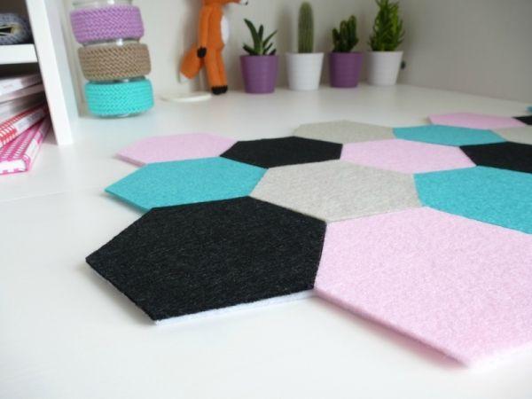 DIY Sousmain hexagone pour votre bureau Bureaus DIY general