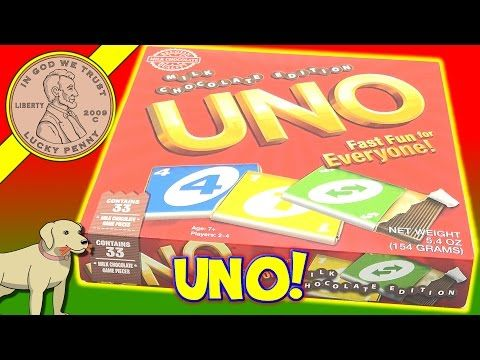 UNO Milk Chocolate Edition Board Game - Elfie Update - Drum Battle! - YouTube