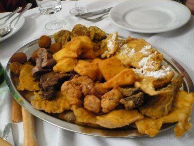 Il fritto misto forse il piatto tipico pi for Piatto tipico romano