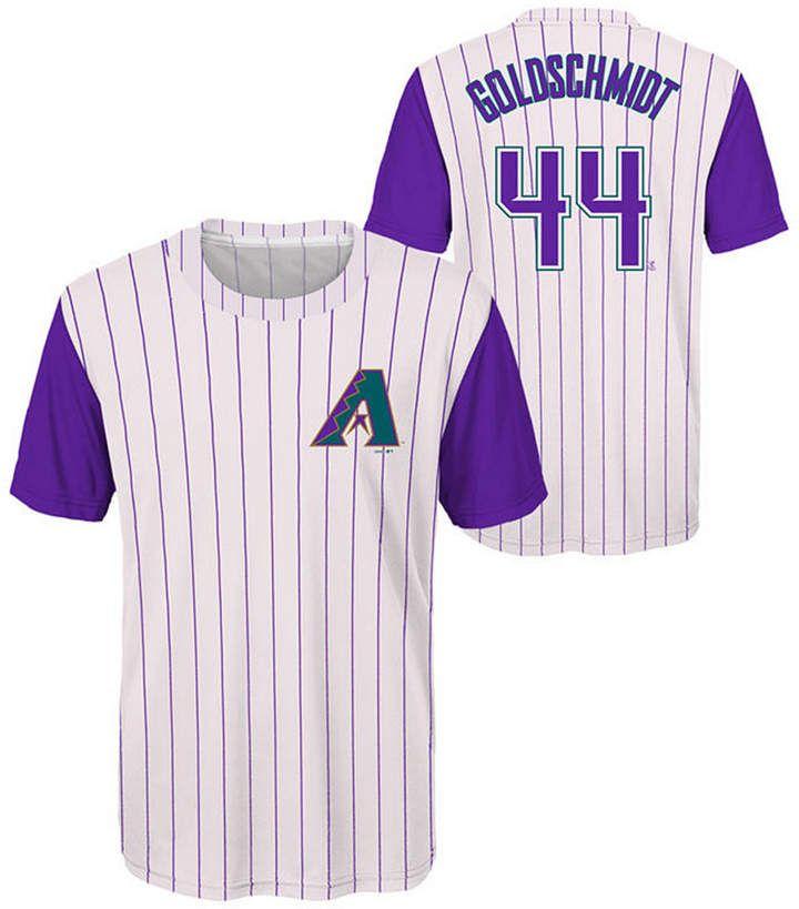 Outerstuff Paul Goldschmidt Arizona Diamondbacks Coop Poly Player T-Shirt a962503de