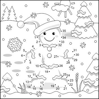 Connect The Dot Coloring Pages - Coloring Home | 350x350