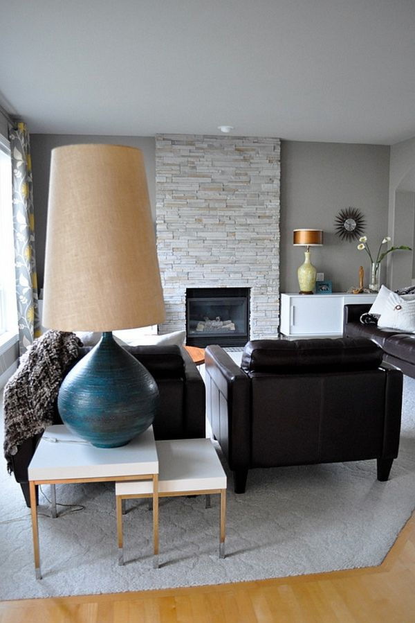 oversized lighting: floor and table lamps that leave you overwhelmed
