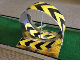 Mini Golf Course Obstacles |  Aluminum_loop_obstacle_mini_mobile_portable_miniature_golf_course_for .