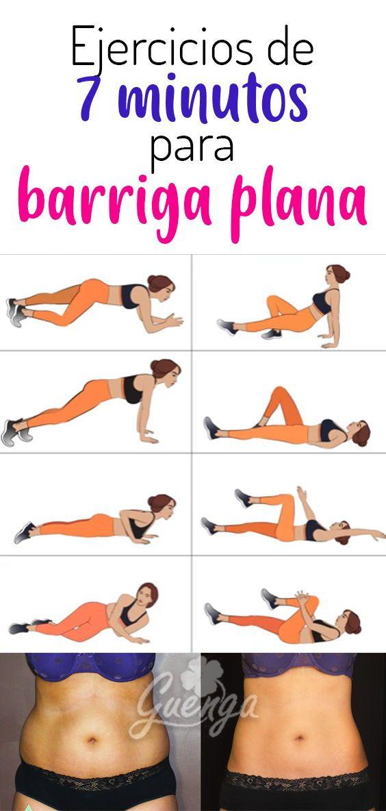 Ejercicios Para Barriga Plano Quemar Grasa Abdominal Logra Abdomen Perfecto Con Solo 7 Minutos Al Dia Yoga Fitness Workout Exercise