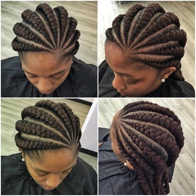Top Ghana Hairstyles Weaves For Any Women Related Postslatest Ghana Weaving Pictures To Try 2017 Cornrow Hairstyles Braided Hairstyles Ghana Braids Hairstyles