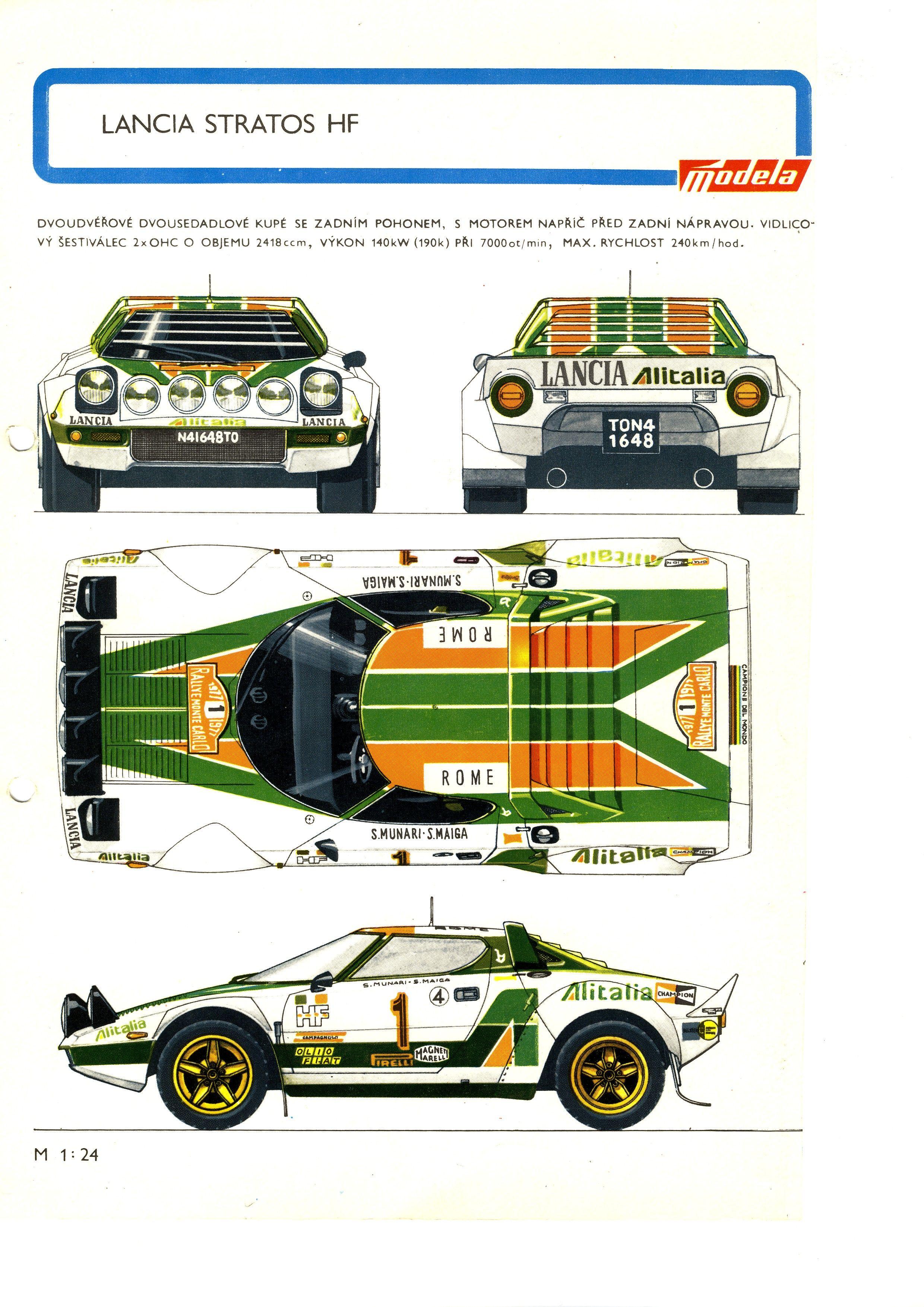 Lancia stratos golden age of automotive lifestyle pinterest lancia stratos hf vanachro Images