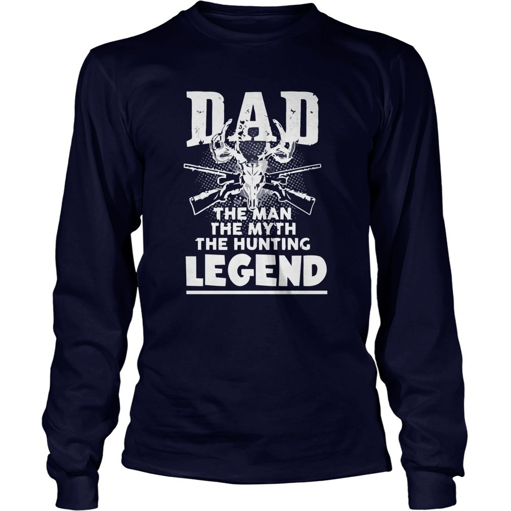 Dad the man the myth the deer hunting legend shirt gift