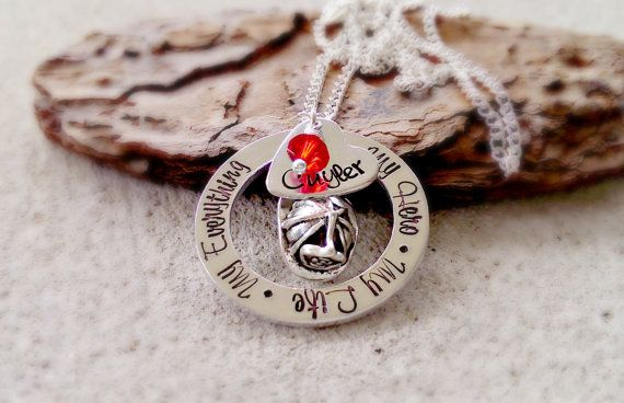 jewelry gift girlfriend fireman swarovski plated crystal xl product necklace firefighter
