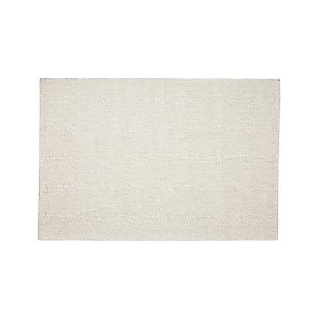 Herringbone Ivory Wool Blend 9 X12 Rug Home Decor Rugs