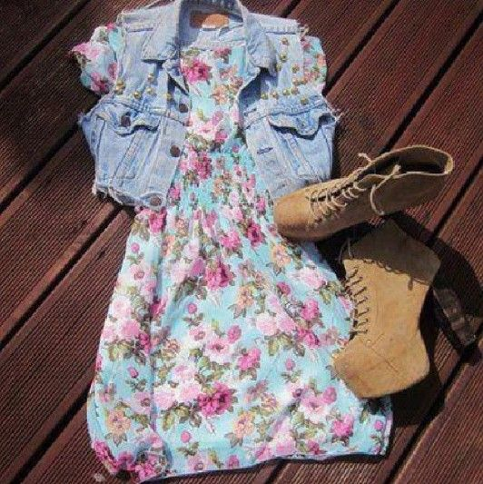 Vestido para primavera - verano