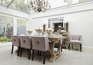 Chelsea Park Gardens | London | SW3 - transitional - Dining Room - London - A.LONDON by Accouter