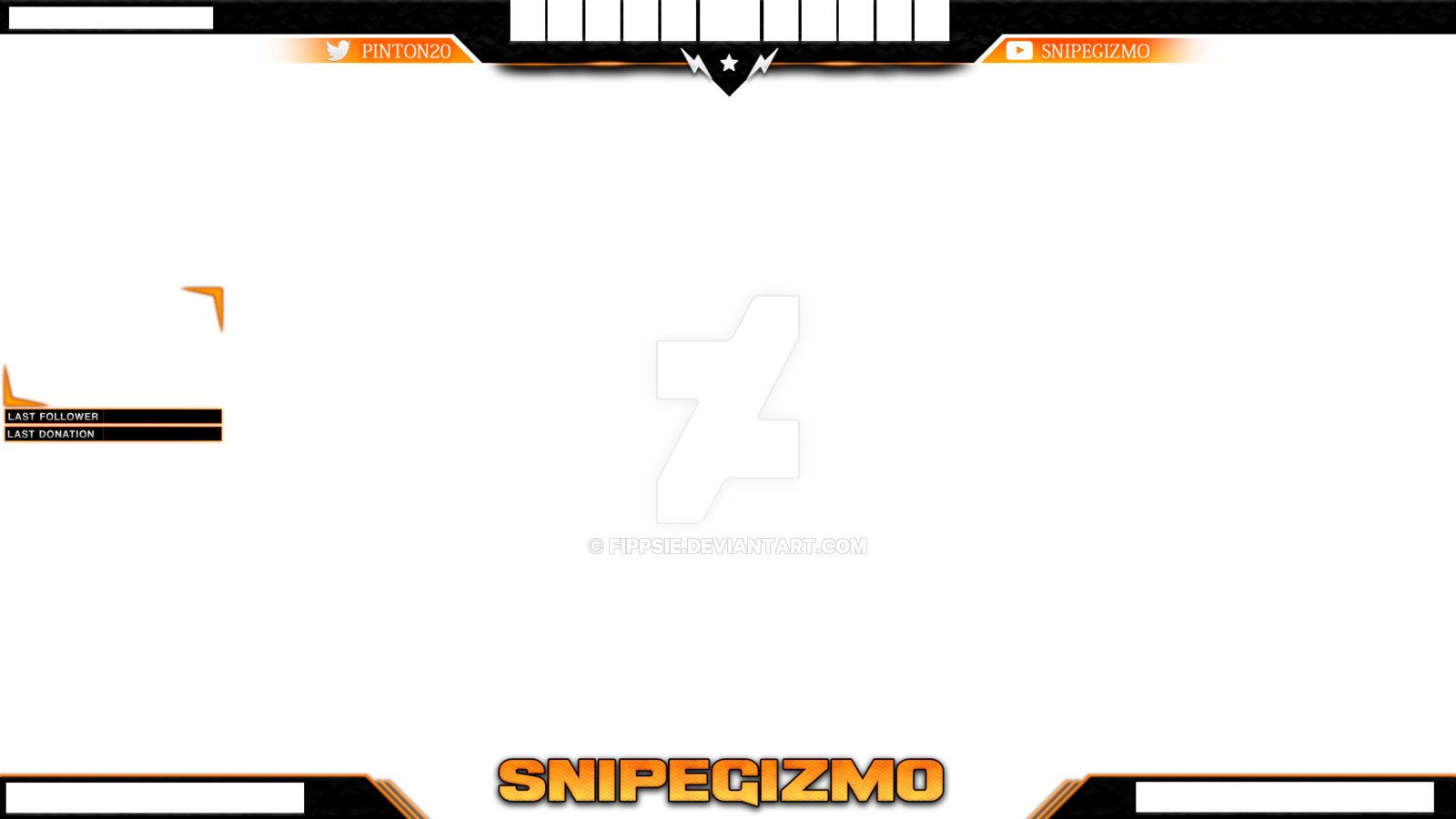 Twitch CSGO Stream Overlay For SnipeGizmo By Fippsie On