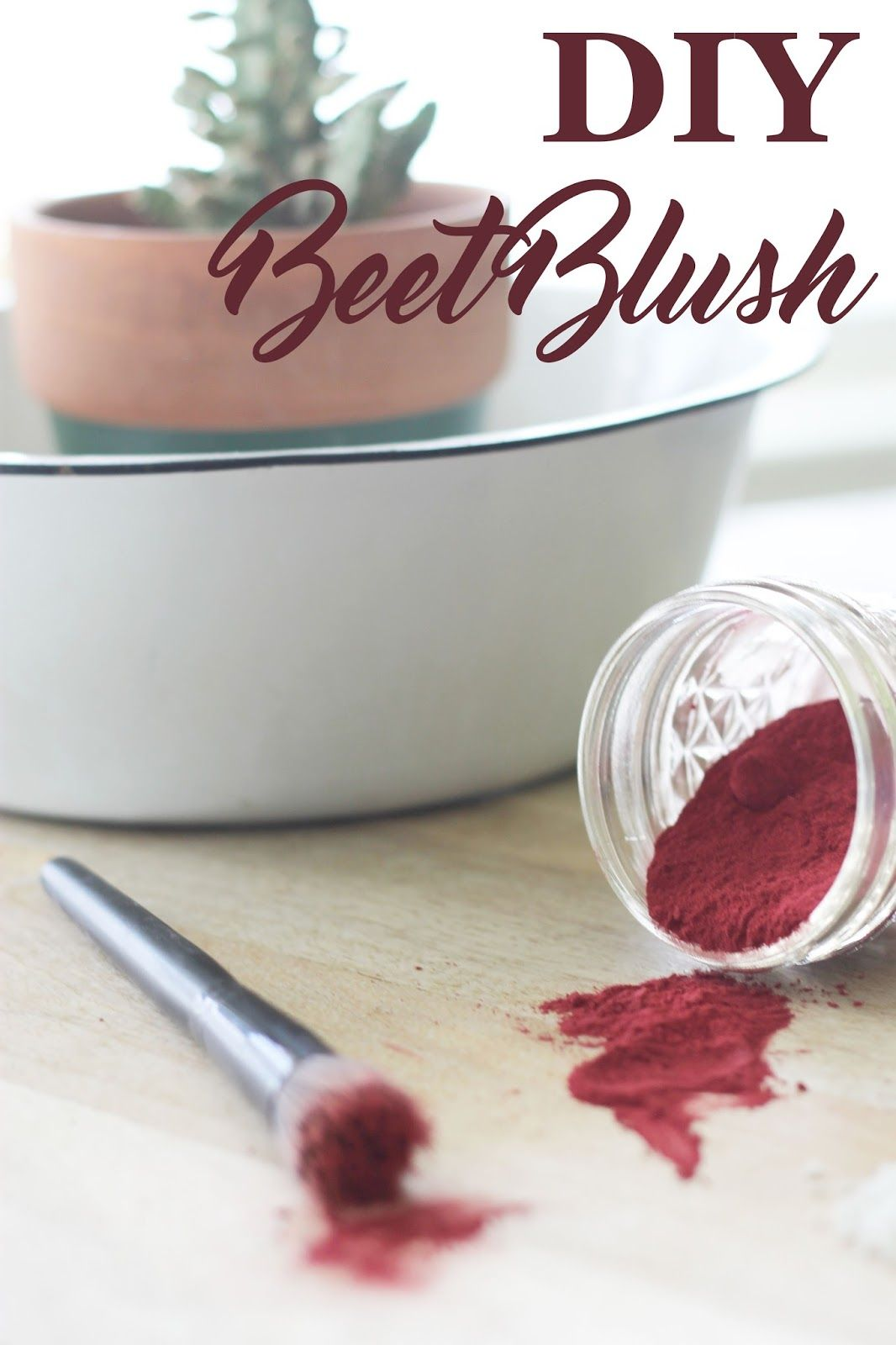 DIY Beet Blush (With images) Zero waste, Diy cosmetics