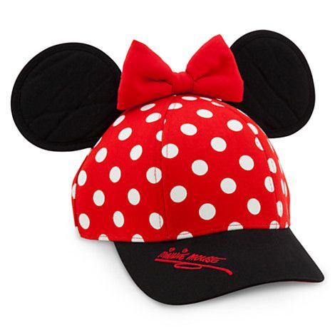 Disney Girls Minnie Mouse Polka Dots Baseball Cap,