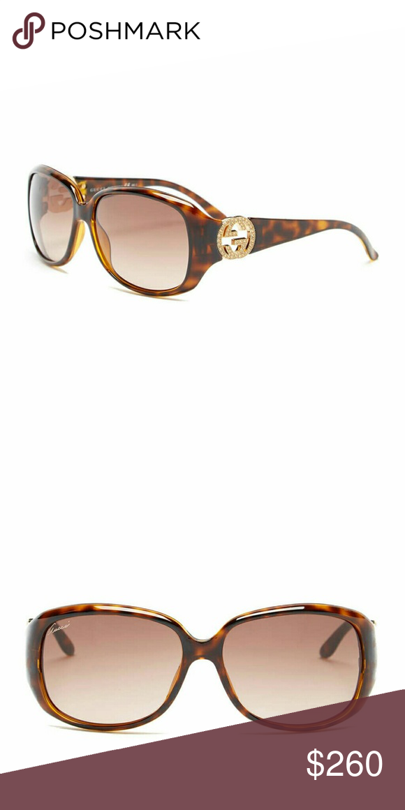 a950068534 Gucci Sunglasses Women s- CLEARANCE NWT Havana brown Authentic Gucci-  CLEARANCE does not come with case or cloth just authenticity cards in  plastic from ...